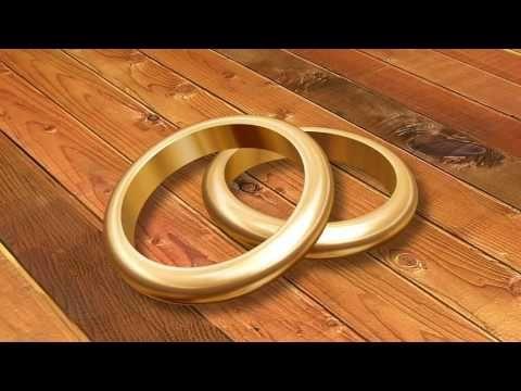 Фон для видео. Футаж романтический, свадебный.YouTube.