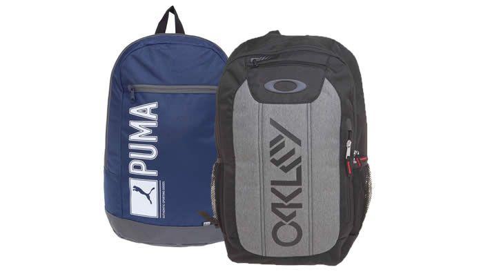 Seleção de mochilas com até 60% de desconto na Dafiti Sports. Há diversos modelos, inclusive peças da Nike, Adidas, Puma, Pretorian, Penalty e muito mais.