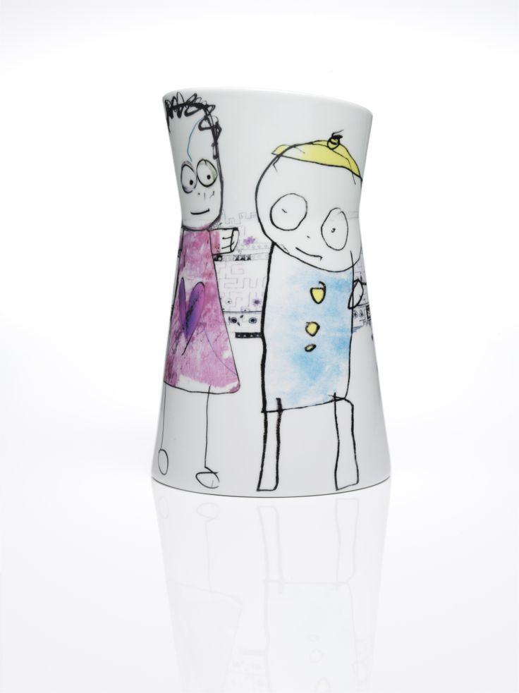 Poul Pava Mega Vase 27cm. Available from www.livin.co.za