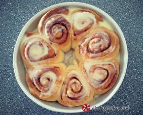 Τα+πιο+αφράτα+ρολάκια+κανέλας+(cinnamon+rolls)+#sintagespareas