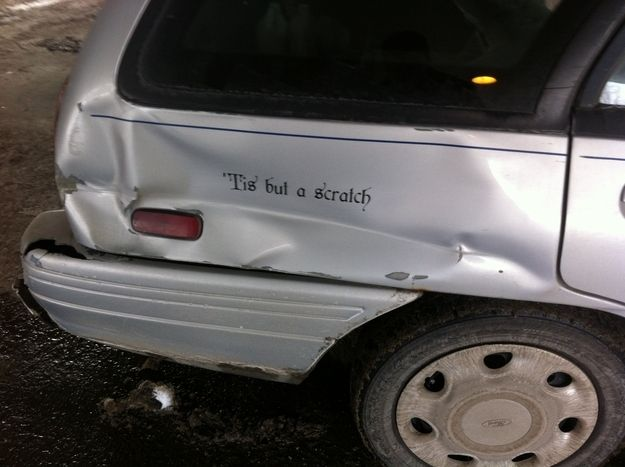 This car owner funny thingsnerdy thingsawesome thingsmercutio quotesbad driversfunny memscar bumper stickersmonty