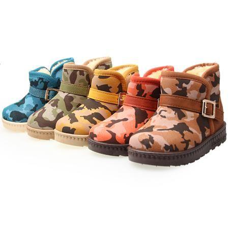 к 2015 году новых детей мальчиков обувь Зима теплая обувь мешки для сгущения камуфляж снега сапоги Детские сапоги почта  — 1760.33р.