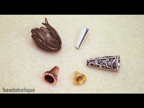 Video: How to use a Bead Cone to Finish a Multi-Strand Bracelet   #Beading #Jewelry #Tutorial