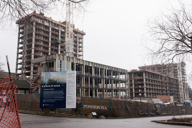 Under Construction: Ponderosa Commons Phase 1 by tyfn, via Flickr - Canon XSi, EF-S18-55mm f/3.5-5.6 IS, ISO 100, f/20, 21mm, .3 sec