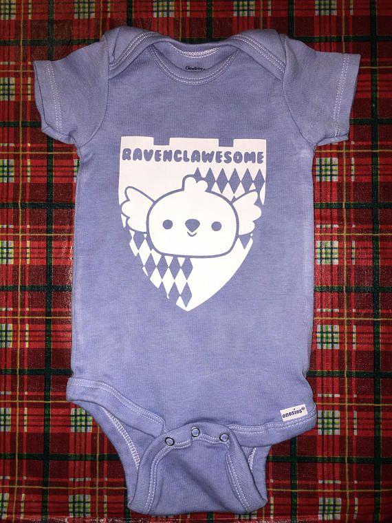 5f6bdcd5edc Ravenclawesome baby onesie