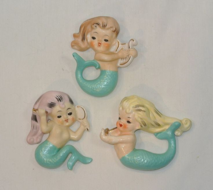 174 Best Kitschy Bathroom Images On Pinterest Vintage Mermaid Mermaids And Little Mermaids