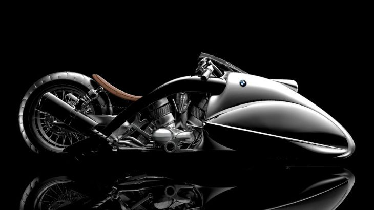 BMW Apollo Streamliner: Motocicleta Concepto
