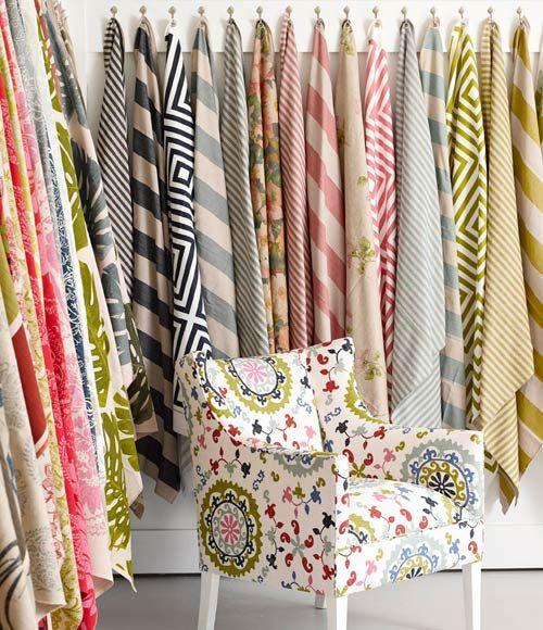 Lula Fabrics from South Africa, available from Beach House DECOR Studio - www.beachhouse.co.za