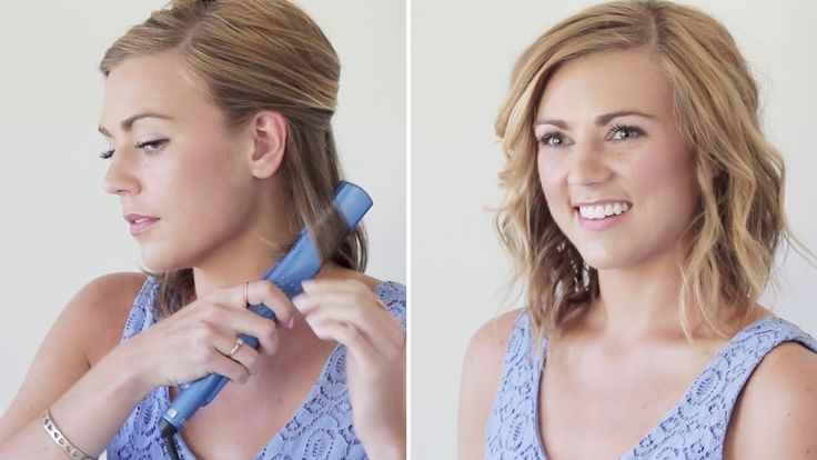 How To Curl Your Hair With A Flatiron | Hair Tutorial