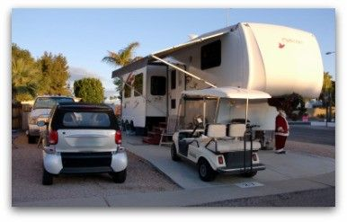 This website is all about the community of full time RVers sharing experiences and providing information to others about our RV lifestyle.