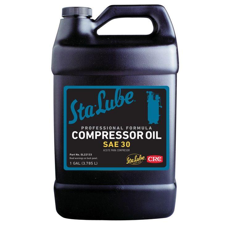 CRC SL22133 1 Gallon Air Compressor Oil