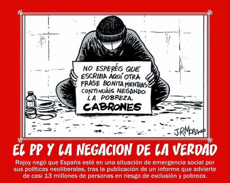 La pobreza del PP