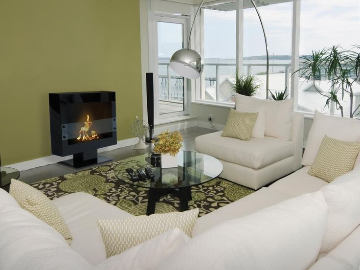 Tribeca II Free Standing Floor Indoor Outdoor Biofuel Fireplace