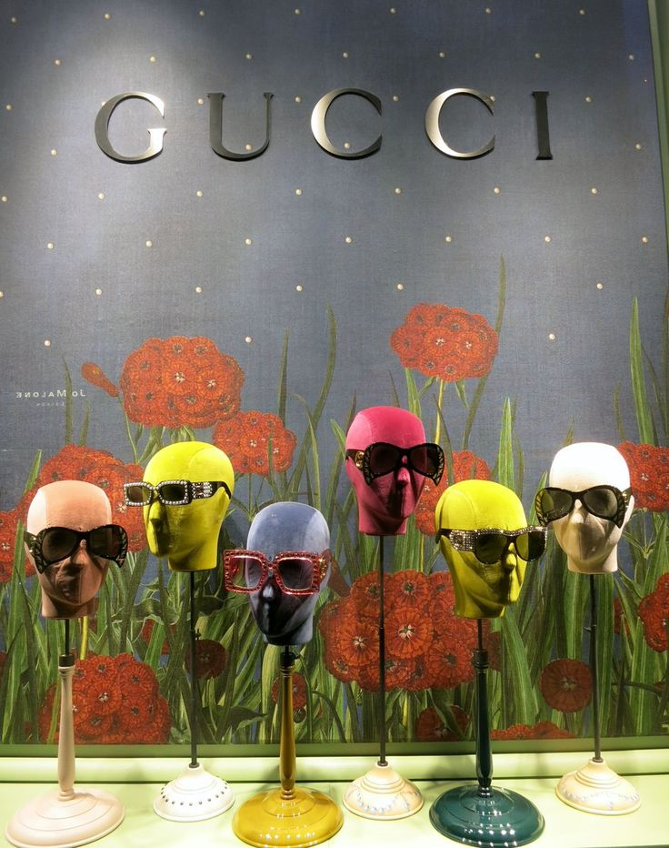 """COLETTE, Paris, France, """"Keep your face to the sunshine and you cannot see a shadow"""", for Gucci Eyewear, photo by Jonathan Baker, pinned by Ton van der Veer"""
