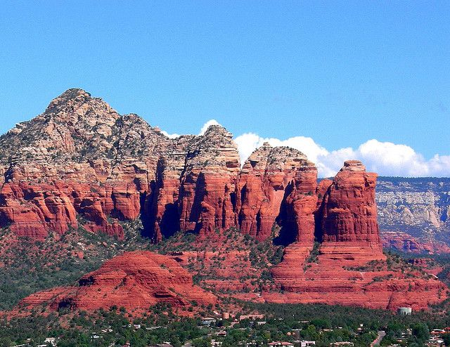 http://online-super-store.net/recommends/viral.php Appropriately named Coffee Pot Rock on the right. from the Airport Mesa Overlook Sedona Arizona looking north. Late afternoon and the red rocks really are this color. Monsoon storms firing up in the