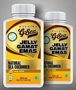 Walatra G-Sea Jelly / Jelly Gamat Walatra Kini Hadir Walatra G-Sea Jelly / Jelly Gamat Walatra memiliki rasa yang lebih segar yaitu rasa jeruk. (G-Sea Jelly) Jelly Gamat Walatra ini memiliki isi 350ml http://javanaherbal.com/walatra-g-sea-jelly/
