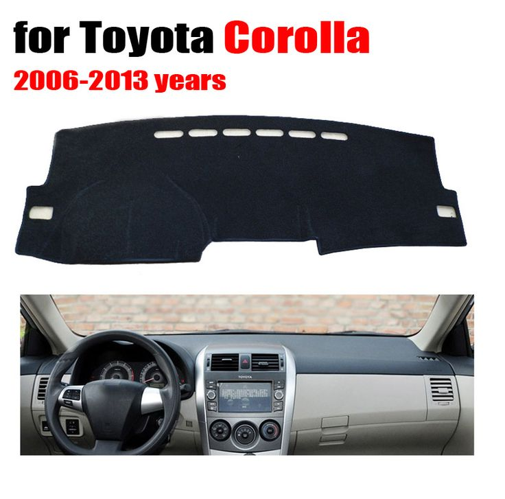 ==> [Free Shipping] Buy Best Car dashboard cover mat for TOYOTA COROLLA 2006-2013 years Left hand drive dashmat pad dash mat covers dashboard accessories Online with LOWEST Price | 32690296441