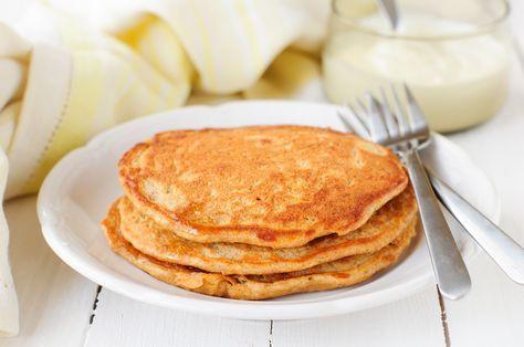 Paleo Pumpkin Pancakes made with Otto's Naturals Cassava Flour | Paleo Movement Magazine