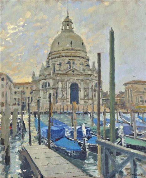 Ken Howard - Santa Maria della Salute, Venice,...