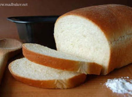 Soft and Easy White Bread (Bread Machine) Recipe | Just A Pinch Recipes