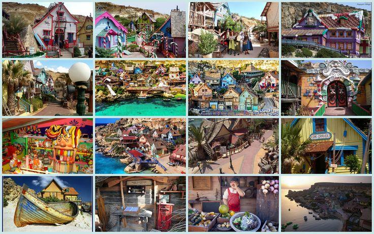 Malta El pueblo de Popeye