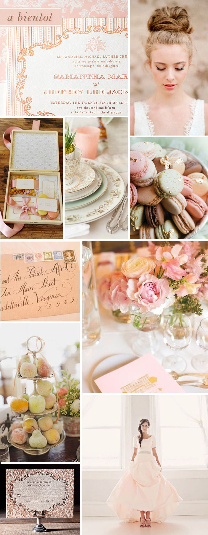 The Inspiration behind A Bientot: A perfectly Parisian invitation design by Bella Figura