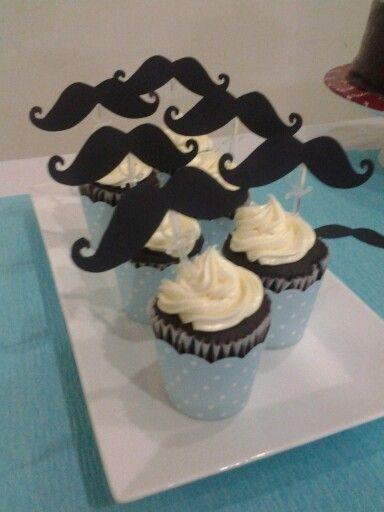 Mustache 40 yo birthday party