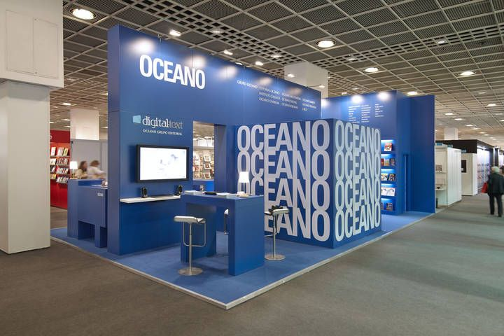 Exhibition Stand Design Books : Von hagen océano at book fair exhibition