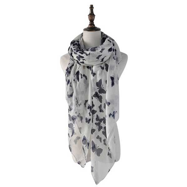 Butterfly Beauty Ladies Scarf @ Fig & Wattle