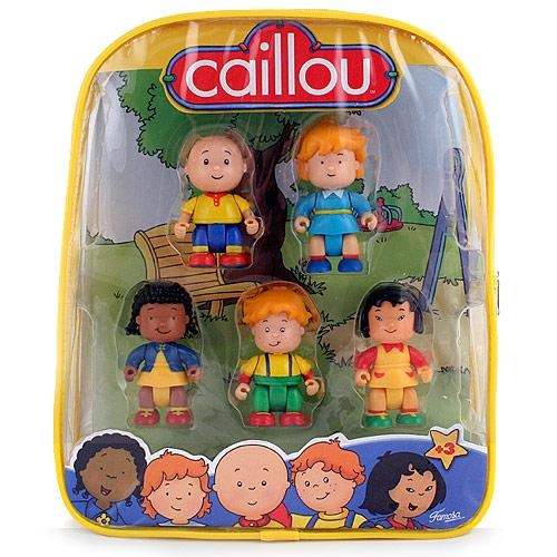 Caillou Toys Figures In Backpack Caillou Birthday