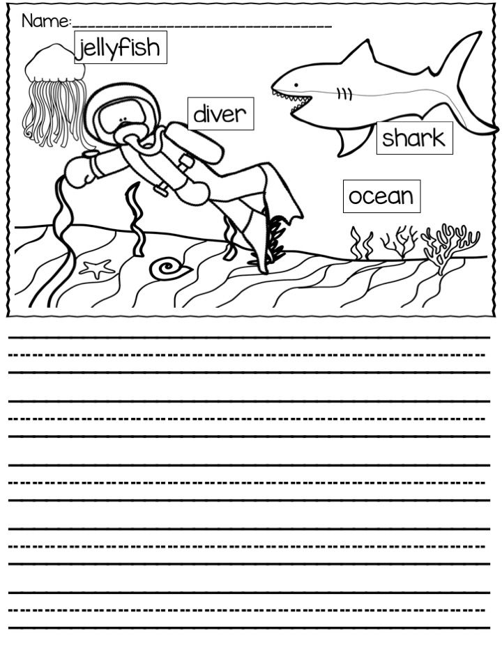 50 labeled picture writing prompts. Provides students with a word bank to support them in the writing process. Also includes unlabeled version once they gain more confidence. Great for a writing center or during writing time.