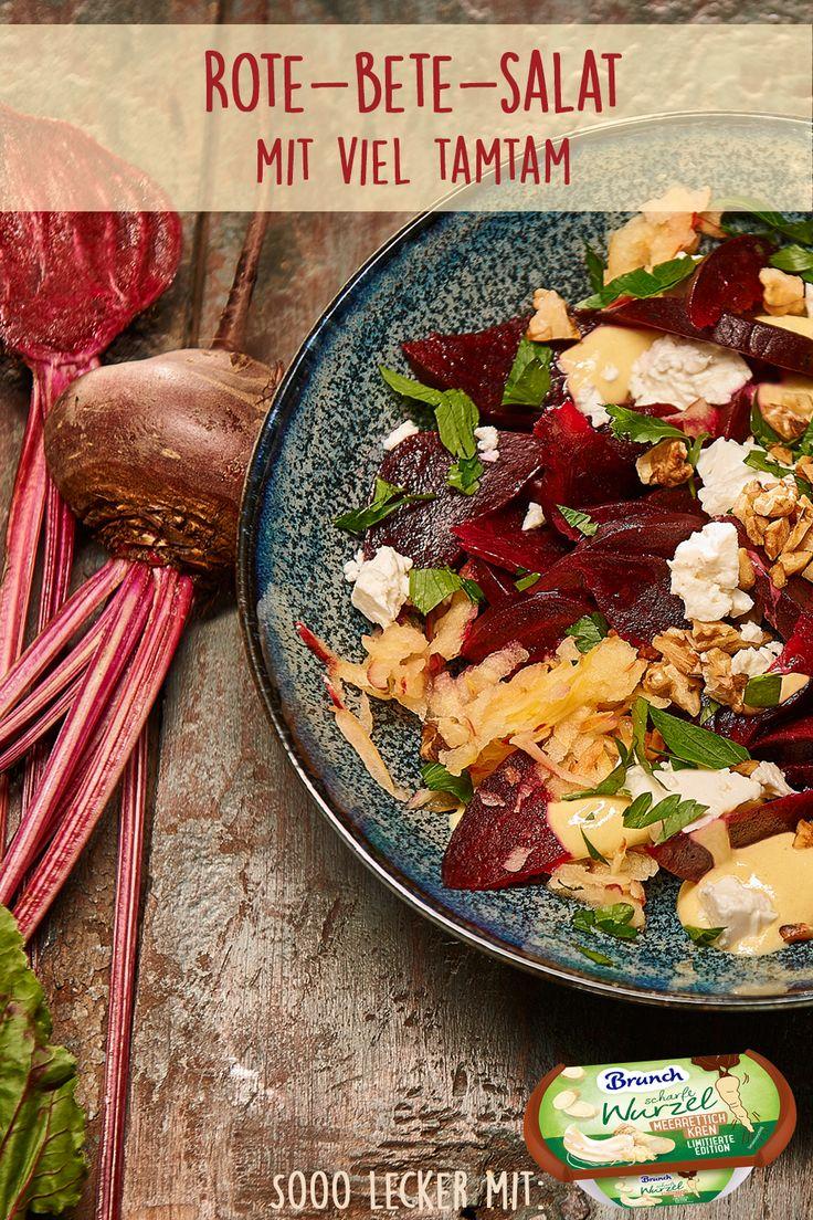 Rote-Bete-Salat mit viel Tamtam