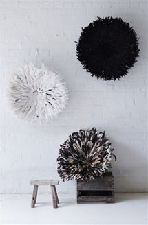 Juju Hats (Feathered Wall Art) See Barefoot Gypsy at Reed Gift Fairs Melbourne August Stand: SG1745