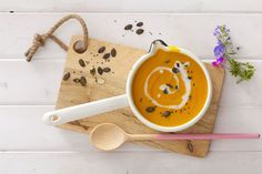 Zupa z dyni na mleku kokosowym II