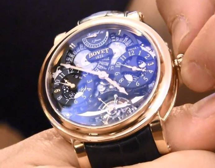 1000+ images about Bovet Fleurier 1822 Gents Luxury ...
