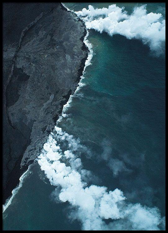 Volcano, poster in der Gruppe Poster / Fotografien bei Desenio AB (8370)