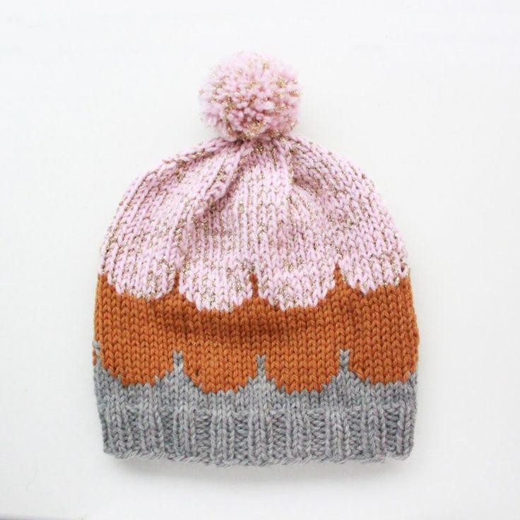 Lutter Idyl: Strikket hue // Knitted Beanie, pattern from Muitaihania, muitaihania.blogs...