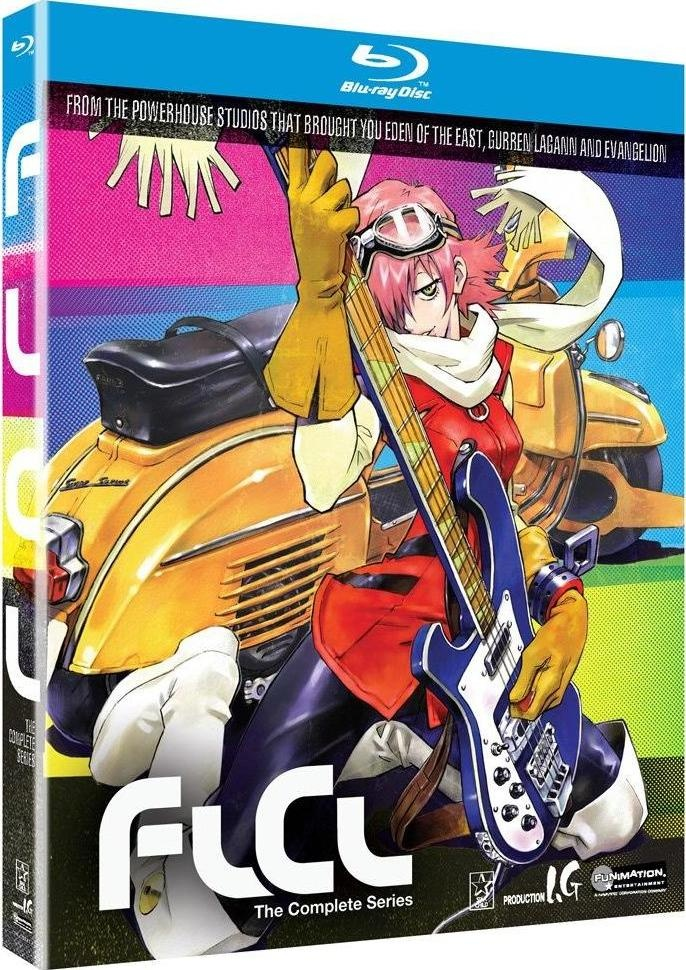 FLCL Complete Collection (Bluray) ; 22.99 Anime