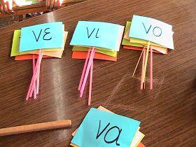 Η τάξη μας!: Φτιάχνουμε λεξούλες!