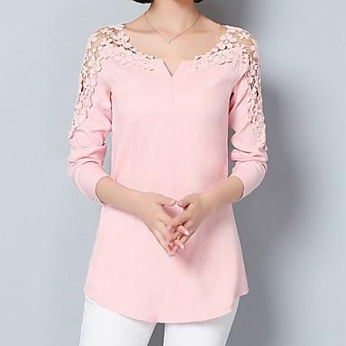 Ready to ship: Women's Going out.... http://chicloth.com/products/womens-going-out-formal-work-sexy-street-chic-sophisticated-all-seasons-spring-shirt-solid-asymmetrical-long-sleeve-blue-pink-white-green?utm_campaign=social_autopilot&utm_source=pin&utm_medium=pin