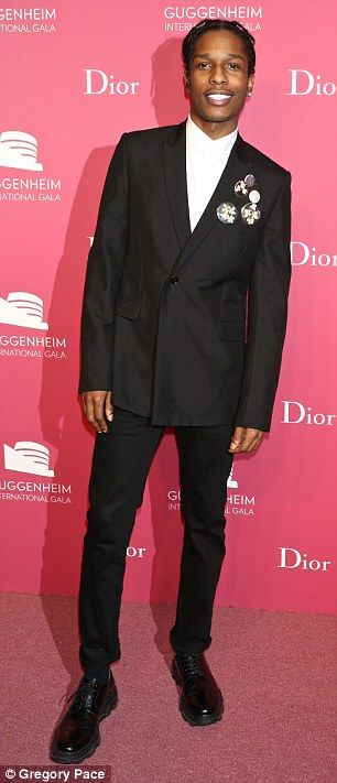 Trendy Suits Asap Rocky And Dior Homme On Pinterest