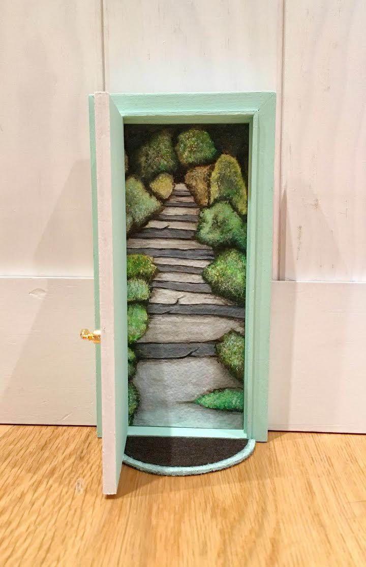 Las 25 mejores ideas sobre puertas de hadas en pinterest - Puertas de madera decoradas ...