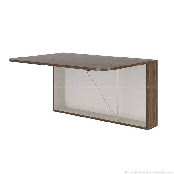 25 melhores ideias sobre escrivaninha suspensa no - Mesa plegable pequena ...