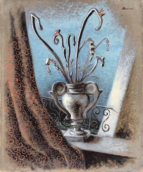 'Fleurs' (1930-31) by Alberto Savinio