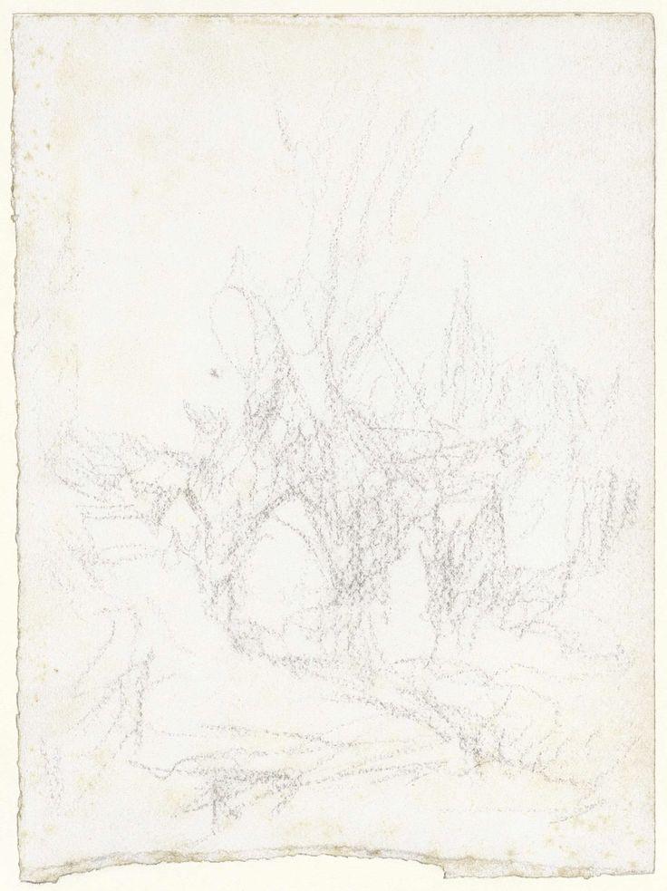 Matthijs Maris | Schets van een landschap, Matthijs Maris, 1849 - 1917 |