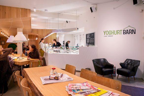 Yoghurt Barn - hotspot Utrecht