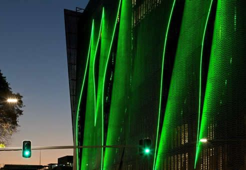 building facade lighting by Hotbeam UTS Broadway