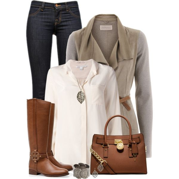 """""""Leaf Necklace"""" by daiscat on Polyvore"""