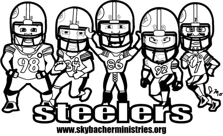 pittsburgh steelers coloring pages - photo#28