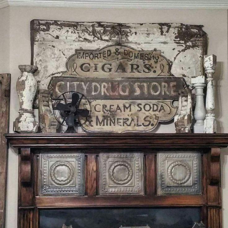 Vintage Drugstore Sign